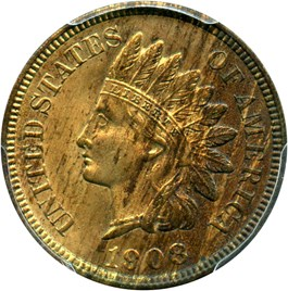 Image of 1908-S 1c PCGS/CAC MS64 RB