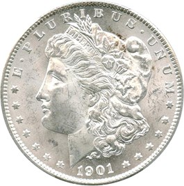 Image of 1901-S $1 PCGS MS65