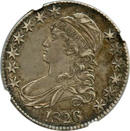 Image of 1826 50c NGC XF45