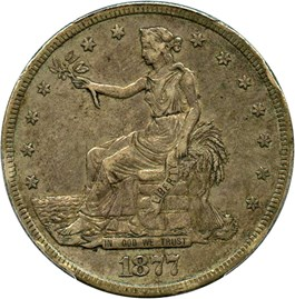 Image of 1877-S Trade$ PCGS XF40