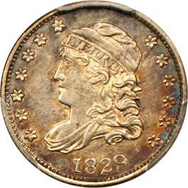 Image of 1829 H10c PCGS AU50