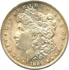 Image of 1890-S $1 PCGS/CAC MS64