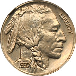 Image of 1937 5c NGC/CAC Proof 64