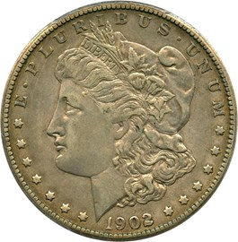 Image of 1902-S $1 PCGS/CAC XF45