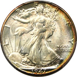 Image of 1947-D 50c PCGS MS67