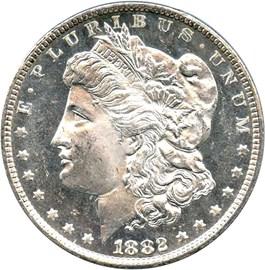 Image of 1882-CC $1 PCGS/CAC MS64 DMPL