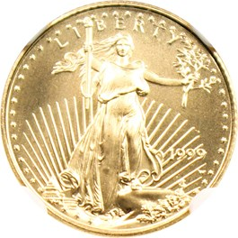 Image of 1999-W Gold Eagle $5 NGC MS69