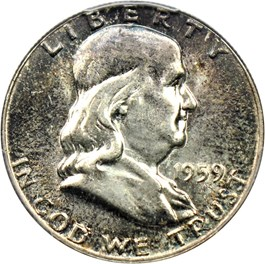 Image of 1959 50c PCGS MS65 FBL