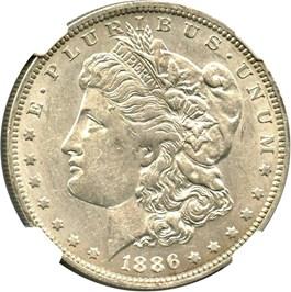 Image of 1886-O $1 NGC AU55
