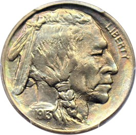 Image of 1913 5c PCGS MS67+ (Type 1)
