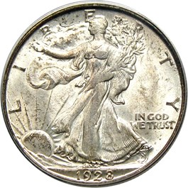 Image of 1928-S 50c PCGS/CAC MS63 (OGH)