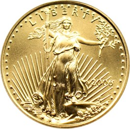 Image of 2006 Gold Eagle $10 PCGS MS70 (First Strike)