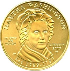 Image of 2007-W Martha Washington $10 PCGS MS69 (First Strike)