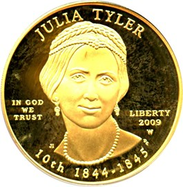 Image of 2009-W Julia Tyler $10 PCGS Proof 69 DCAM (First Strike)