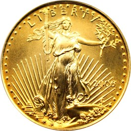 Image of 2006 Gold Eagle $10 PCGS MS70