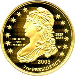 Image of 2008-W Jacksons Liberty $10 PCGS Proof 69 DCAM (First Strike)