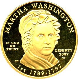 Image of 2007-W Martha Washington $10 PCGS Proof 69 DCAM (First Strike)