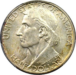 Image of 1938-D Boone 50c PCGS/CAC MS67+