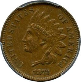 Image of 1873 1c PCGS AU55 BN (Open 3)
