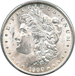 Image of 1900 $1 PCGS MS64