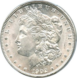 Image of 1902-O $1 PCGS MS65