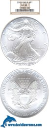 Image of 2003 $1 Silver Eagle NGC MS69