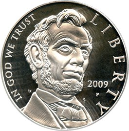 Image of 2009-P Abraham Lincoln $1 PCGS Proof 69 DCAM