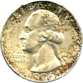 Image of 1936-S 25c PCGS/CAC MS65
