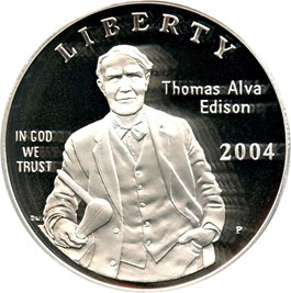 Image of 2004-P Edison $1 PCGS Proof 69 DCAM