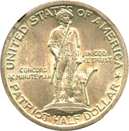 Image of 1925 Lexington 50c NGC/CAC MS65