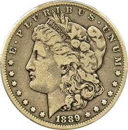 Image of 1889-CC $1 PCGS/CAC VF20