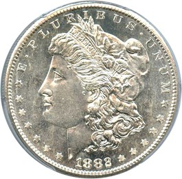 Image of 1882-S $1 PCGS MS67