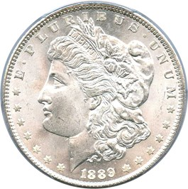 Image of 1889 $1 PCGS MS66
