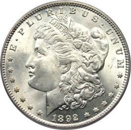 Image of 1892 $1 PCGS MS65