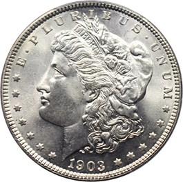 Image of 1903 $1 PCGS MS67