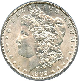 Image of 1902-O $1 PCGS MS66