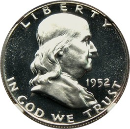 Image of 1952 50c NGC Proof 65 UCAM