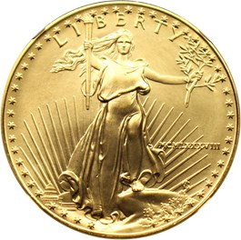 Image of 1988 Gold Eagle $50 NGC MS69