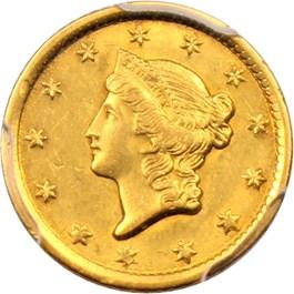 Image of 1852-O G$1 PCGS AU55