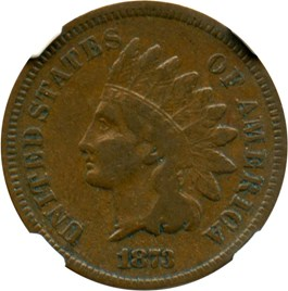 Image of 1873 1c NGC VF25 BN (Closed 3)