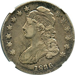 Image of 1836 50c NGC VF30 (Lettered Edge)