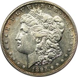 Image of 1893-S $1 PCGS AU50