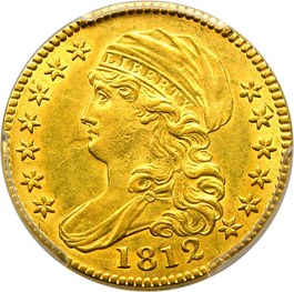Image of 1812 $5 PCGS AU55