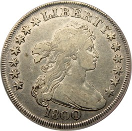 Image of 1800 $1 PCGS VF30