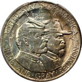 Image of 1936 Gettysburg 50c PCGS/CAC MS66