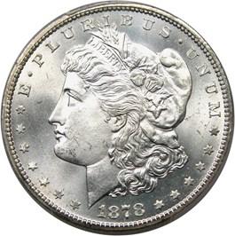 Image of 1878-CC $1 PCGS MS66+