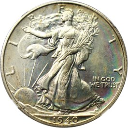 Image of 1940 50c NGC/CAC Proof 66