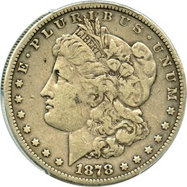 Image of 1878-S $1 PCGS VF20 (VAM-58, Long Arrow Shaft)