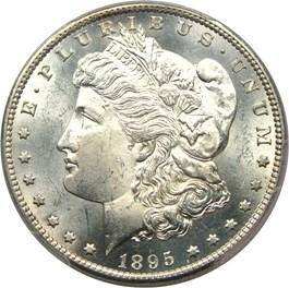 Image of 1895-S $1 PCGS MS63