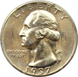 Image of 1937 25c PCGS Proof 67